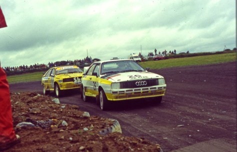 Alistair Galloway Ex-Works Quattro