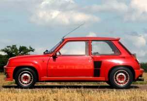 1980 Renault 5 Turbo; top car design rating and specifications