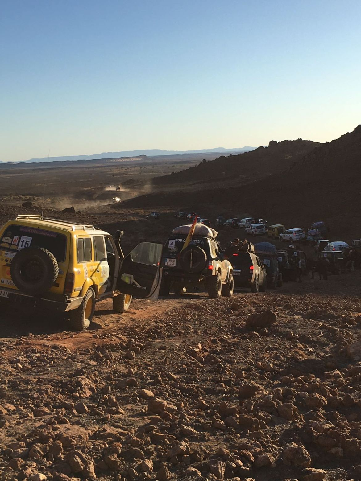 Rally Solidario Maruecos