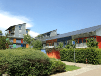 Solar village in Freiburg (early passive plus houses)