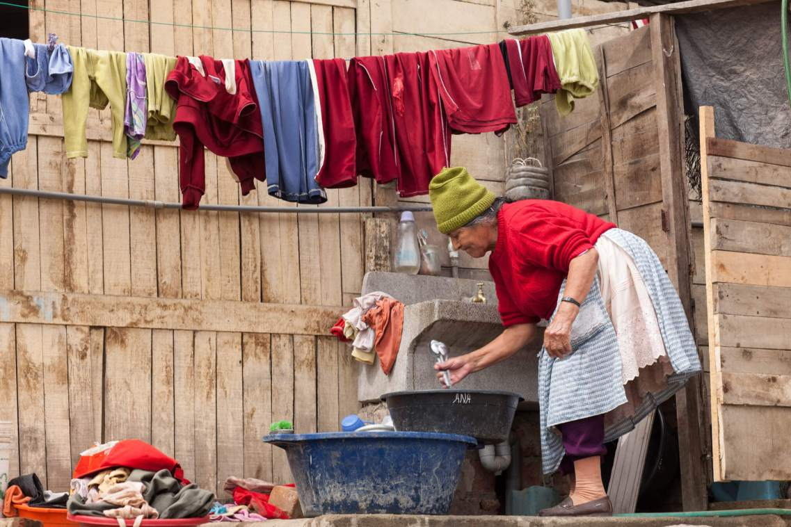 Household Chores, Huaycan, Peru.