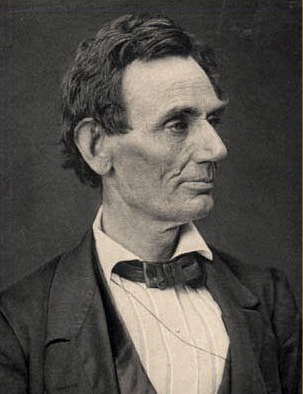Lincoln in his lawyer phase