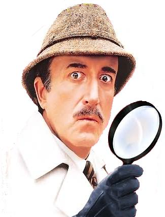 Inspector Clouseau by Peter Sellers