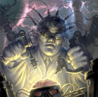mad scientist brain surgery