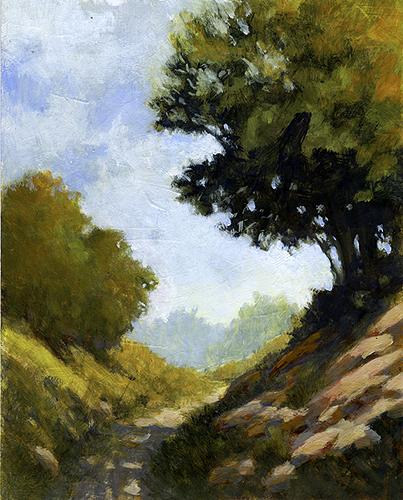 Gouache Painting ~ 8x10