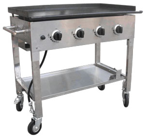 GRIDDLE  PROPANE 16   X 40      Ralph s General Rent All GRIDDLE  PROPANE 16   X 40