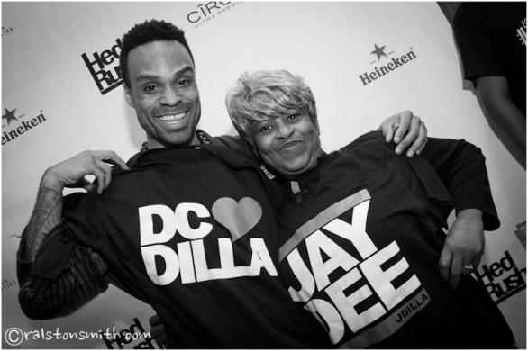 """dc loves dilla w/ bilal + ms. yancey, aka """"ma dukes"""" {washington, dc}"""
