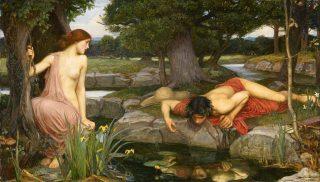 Narcis si Echo deJohn William Waterhouse