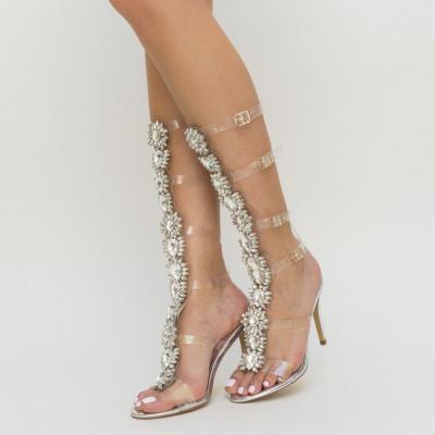 Sandale Samanda Argintii