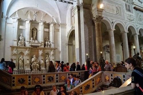 Vedere interior San Pietro in Vincoli - Roma