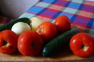 ingrediente Gazpacho, vedeta de azi a Miercurei fara carne