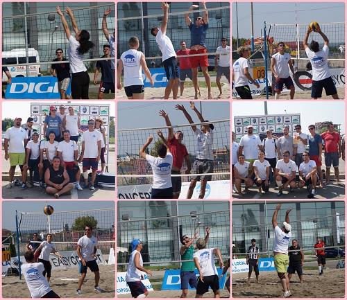 Echipa bloggerilor olteni in turneul de volei pe nisip