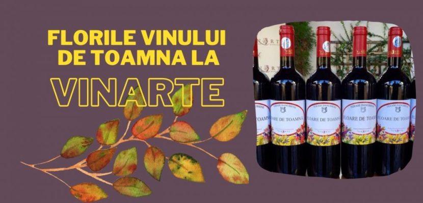Florile vinului de toamna la Vinarte