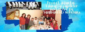Proiect didactic Educatia papilelor gustative cu Samburesti si Delaco