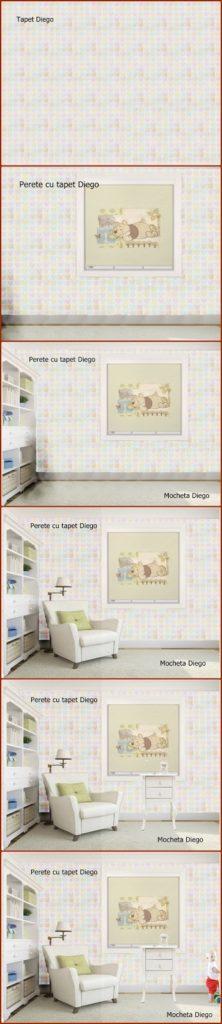Idei de decorare a camerei bebelușului
