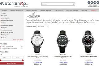 Filtre pe WatchShop.ro