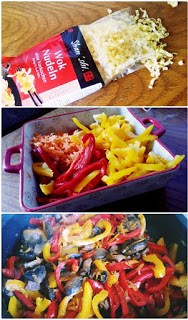 Mod de preparare Taietei cu legume in stil asiatic