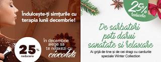 Reduceri la Orhideea Spa in luna decembrie