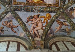 Venus aratand-o pe Psyche lui Cupidon