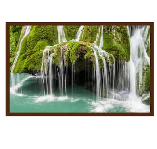 Panou radiant infrarosu Dragus 600W (500W) Cascada Bigar 60 90 cm