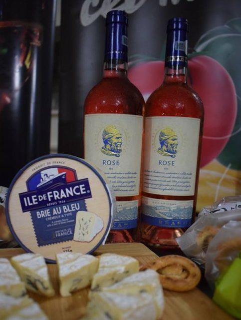 Budureasca Rose - Brie au Bleu