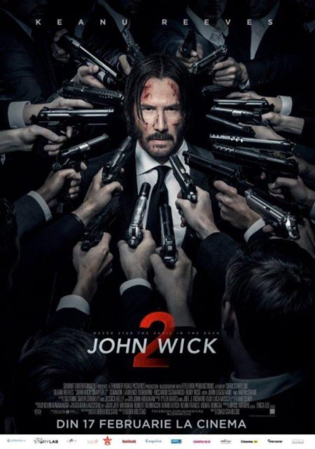 John Wick 2, combinatie intre carnagiul unui joc video si coregrafia unui balet sangeros