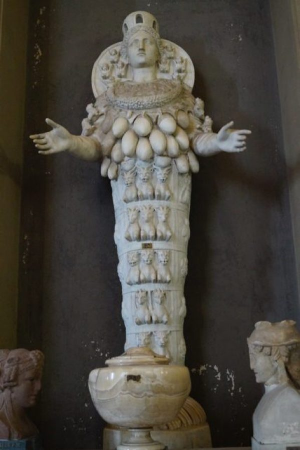 O iconografie bizara - Arthemis din Efes