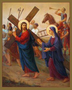 """""""Via Dolorosa"""" sau """"Via Crucis"""" in viziunea lui Svitozar Nenyuk"""