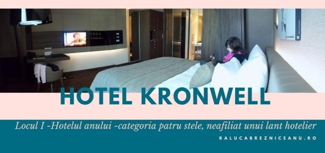 TopHotel Awards 2017, locul I - Hotel Kronwell Brasov