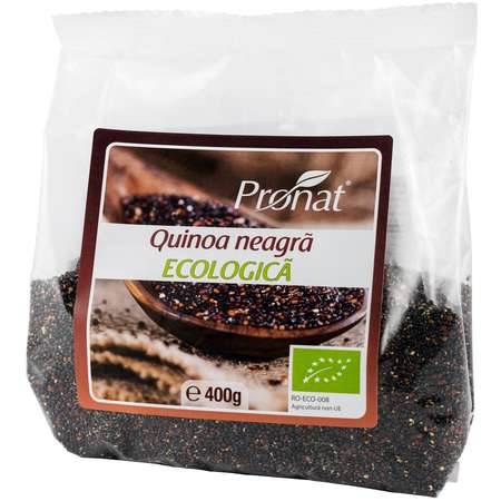Quinoa Neagra BIO Pronat - Foil Pack 400 grame