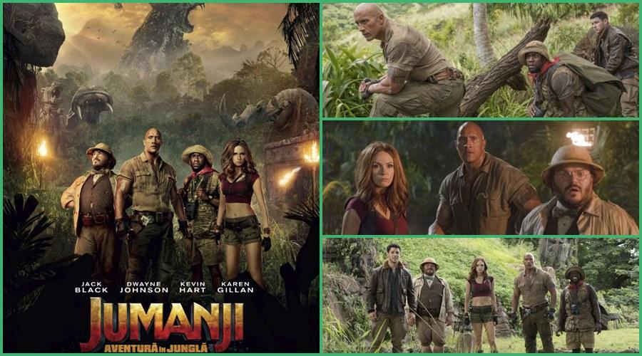 O aventura virtuala in jungla filmului Jumanji