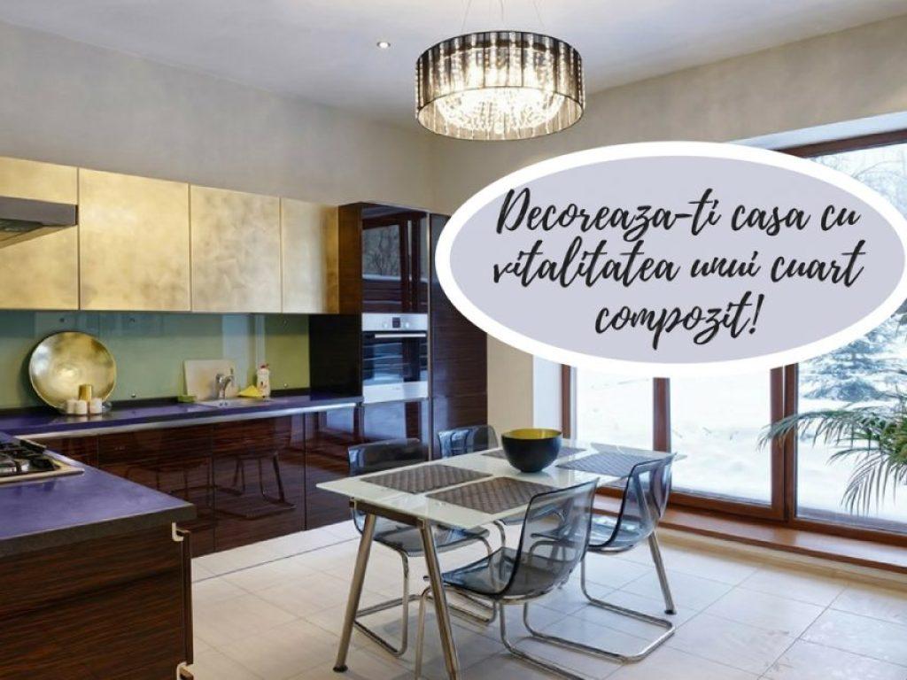 Decoreaza-ti casa cu vitalitatea unui cuart compozit