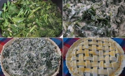 Mod de preparare Placinta cu spanac