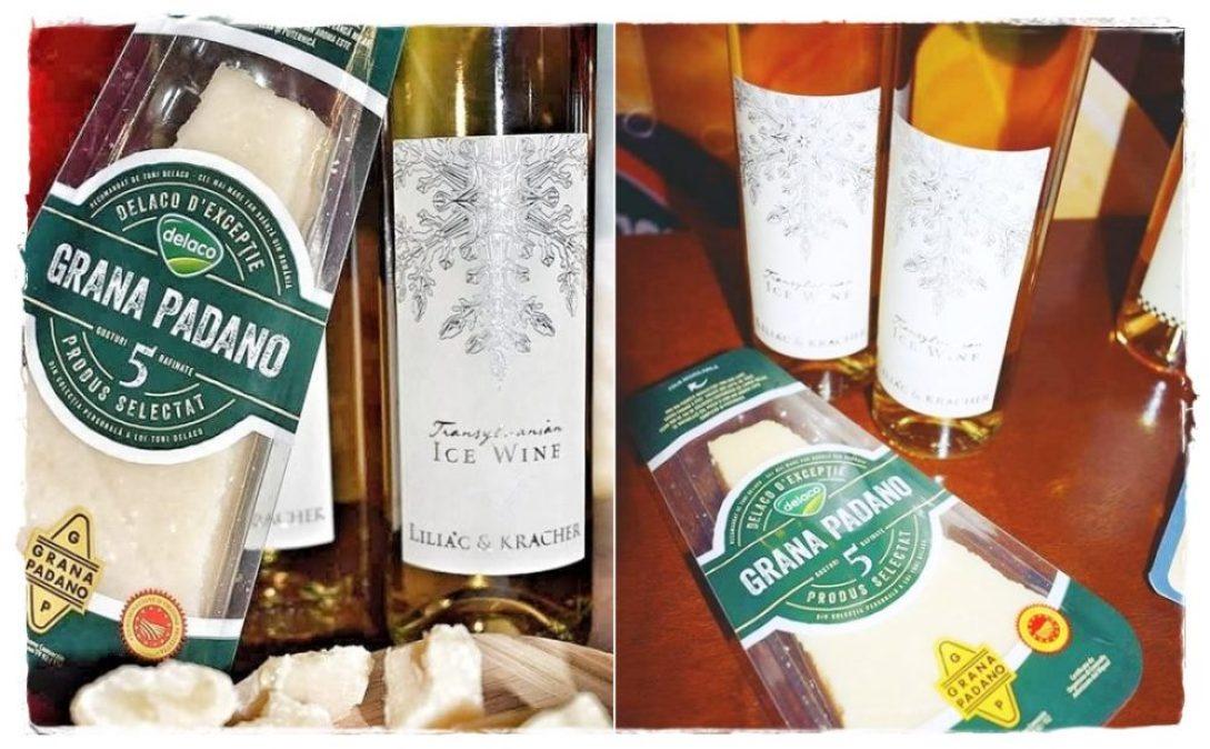 Jocul iubirii dintre Ice Wine si Grana Padano
