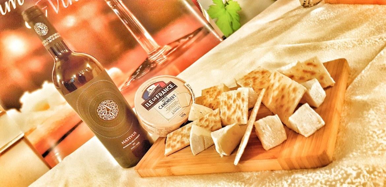 Zghihara plus Camembert un pairing demn de-un expert