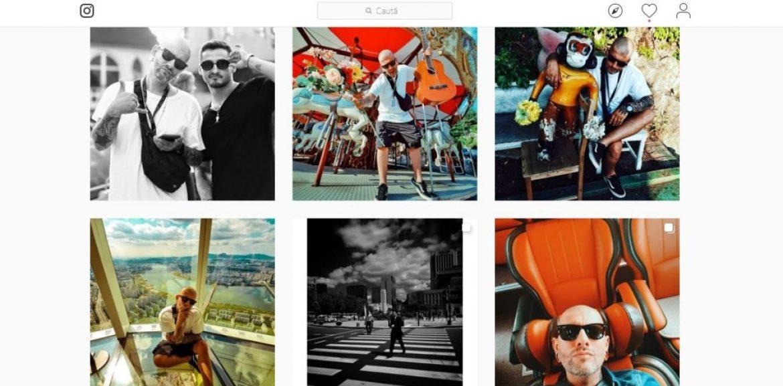 Poze de pe contul de Instagram al lui Vali Barbulescu
