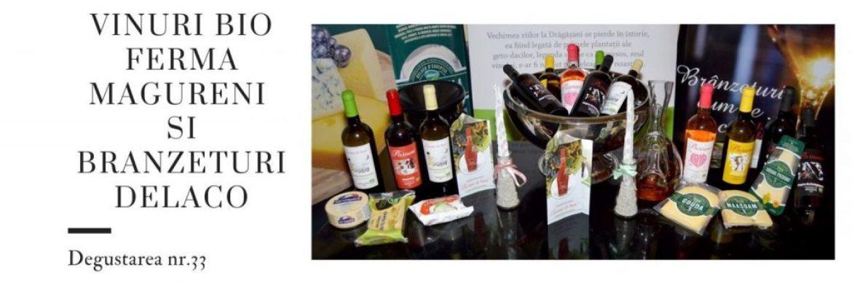 Vinuri bio Ferma Magureni si branzeturi Delaco- Degustarea nr.33