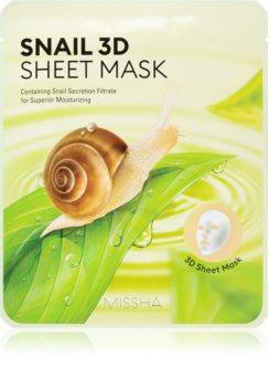 Missha Snail masca de celule cu efect de curatare si reimprospatare extract de melc