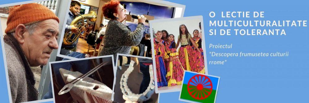 """O  lectie de multiculturalitate si de toleranta -proiectul  """"Descopera frumusetea culturii rrome"""""""