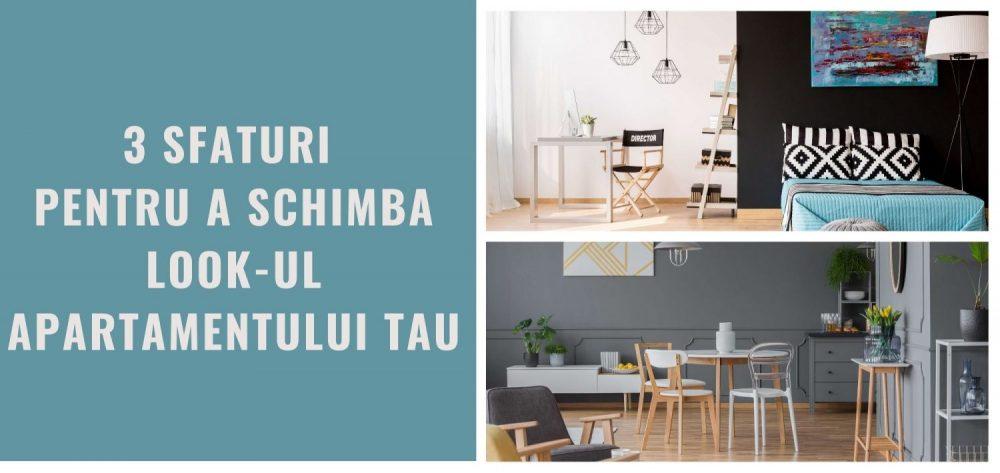 Iata cum poti schimba look-ul apartamentului tau