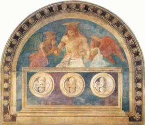 Andrea del Castagno, Invirea detaliu 1447