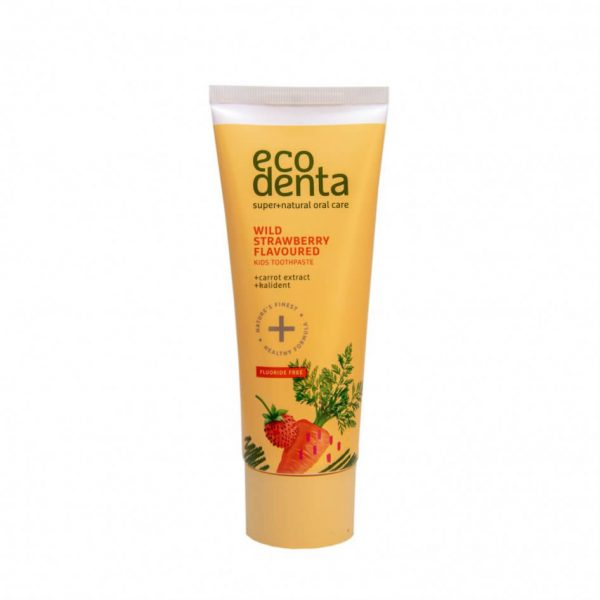Ecodenta Green Wild Strawberry Flavoured