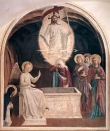 Fra_Angelico_Invierea lui Hristos si femeile la mormant