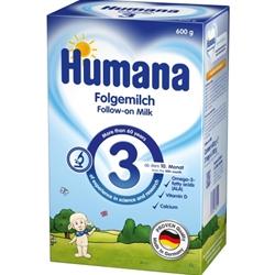 Lapte Praf Humana 3, 10 luni+, 600 g