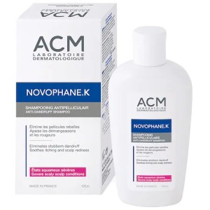 Sampon anti-matreata ACM Novophane K impotriva descuamarii cronice a scalpului, 125 ml