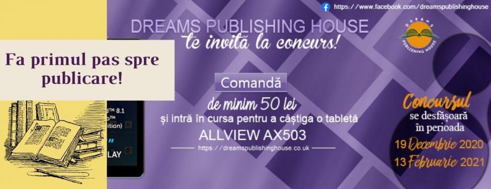 Fa primul pas spre publicare! 1