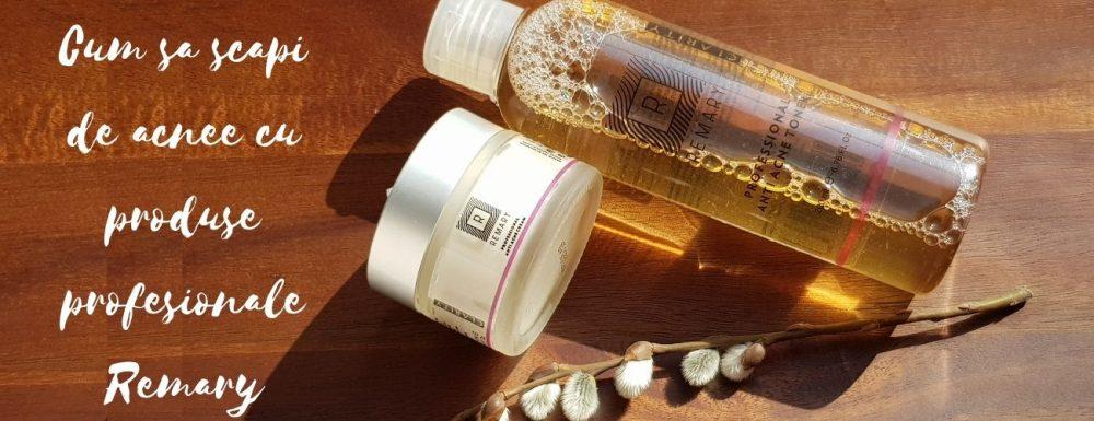 Cum sa scapi de acnee cu produse profesionale Remary