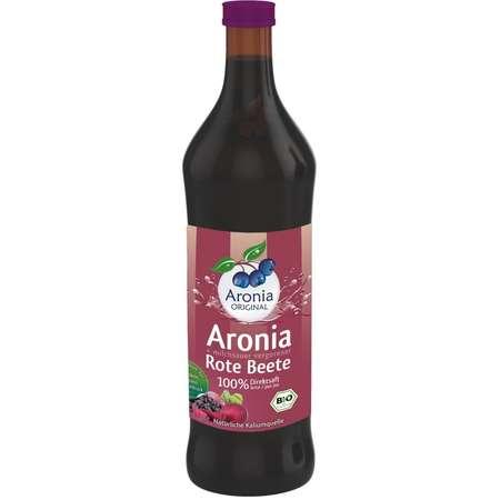 Suc BIO de aronia cu suc de sfecla rosie lacto fermentat Aronia Original 700 ml