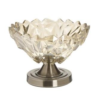 Fructiera Golden Glamour, Charisma, Sticla&Metal, D24x21