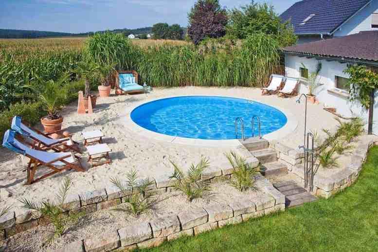 Piscine de calitate germana pentru o vacanta de vis chiar la tine acasa ! Piscină Rotundă cu Pereți din Oțel – Hobby Pool Milano – 500 x 150 cm